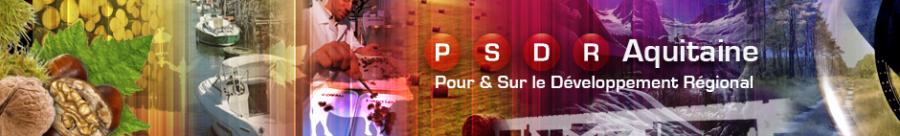 Bienvenue sur le site PSDR Aquitaine